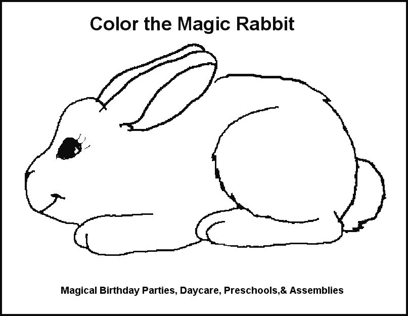 R Is For Rabbit Coloring Page M for M